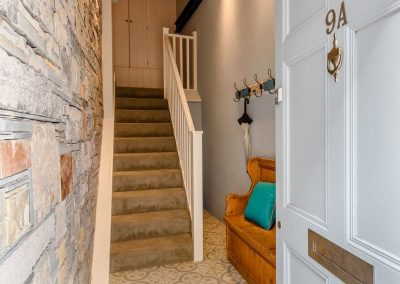 The entrance at Summers, Tenby