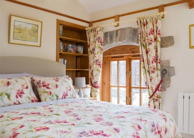 Bedroom #1 at The Byre, Lyserry Barns, St Twynnells