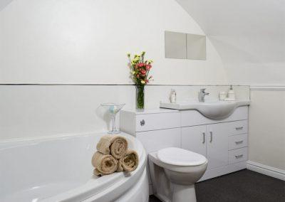 Bedroom #1 en-suite at The Norton, Tenby