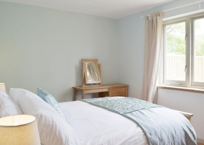 Bedroom #2 at Valley View Barn, St Twynnells