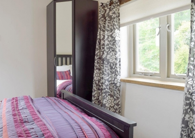 Bedroom #3 at Valley View Barn, St Twynnells