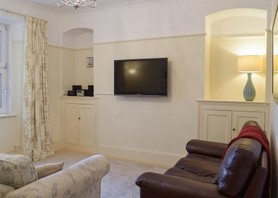 The second living area at Y Traethdy, Tenby