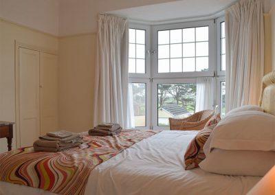Bedroom #1 at Y Traethdy, Tenby