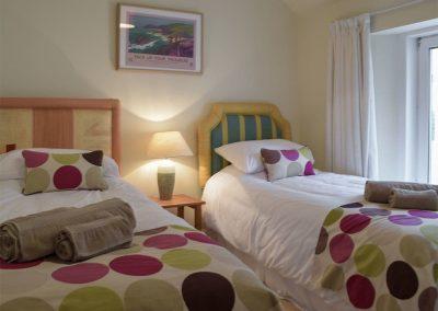 Bedroom #3 at Y Traethdy, Tenby