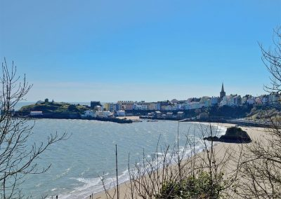 Y Traethdy, Tenby is just a 300m walk from Tenby's gorgeous beaches